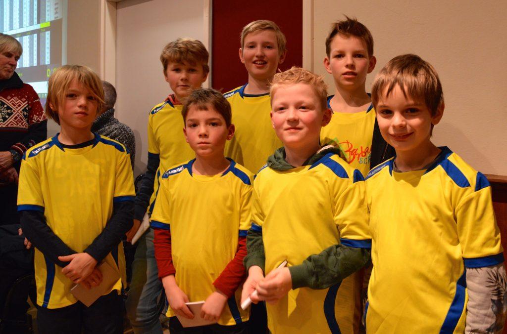 Sint Barbara Tuitjenhorn: Totaalkampioen bij de scholen